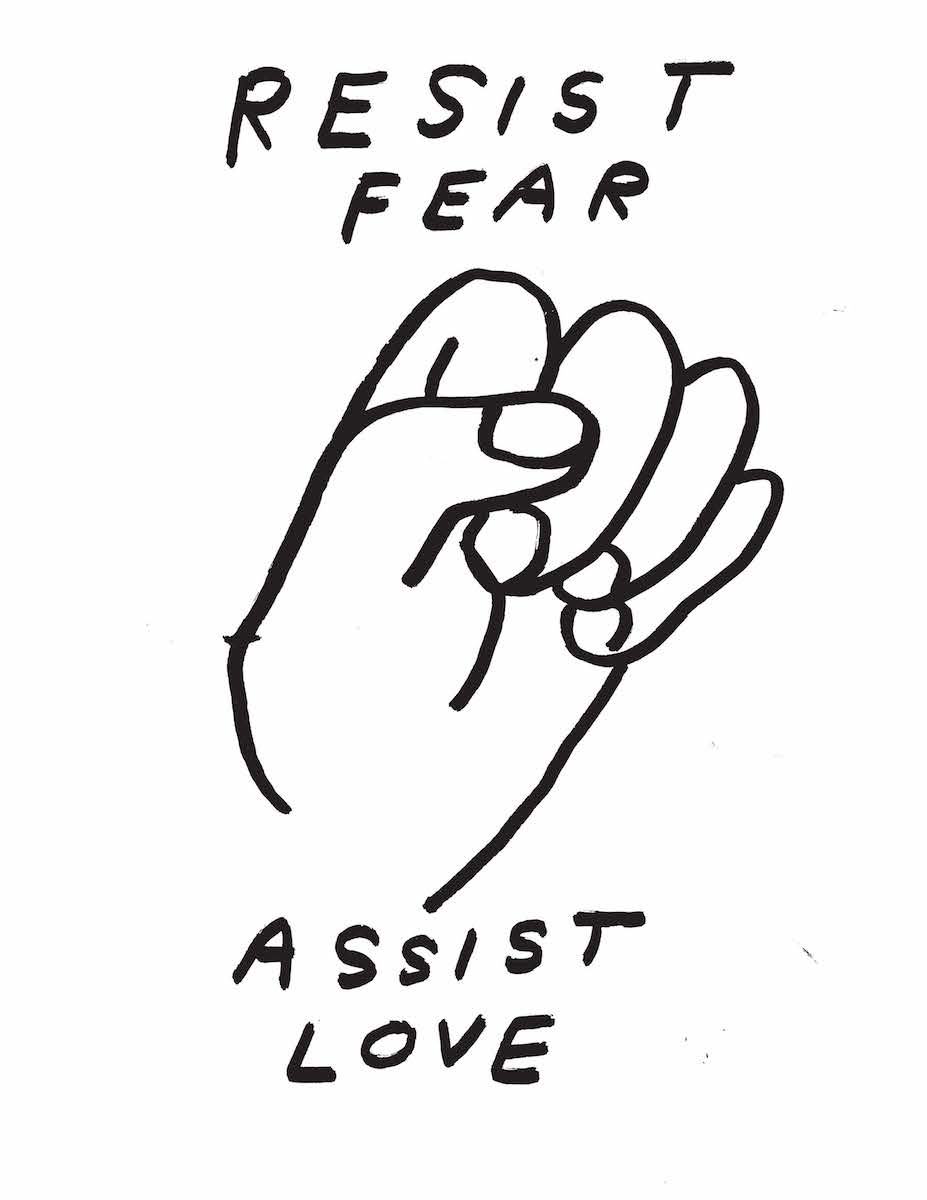 resist fear, assist love image by Nathaniel Russell
