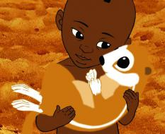 Still from Kirikou and the Wild Beasts