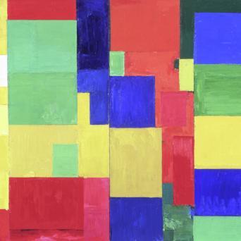 Hans Hofmann, Combinable Wall I and II, 1961