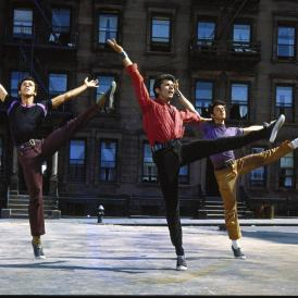 dance scene from West Side Story