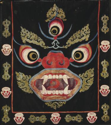 Dance Apron with Mahakala