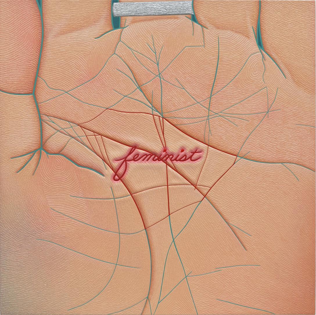 Stigmata, a painting by Linda Stark