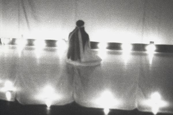Theresa Hak Kyung Cha: A Ble Wail, 1975; performance