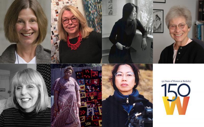 Photos of distinguished women of BAMPFA