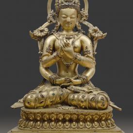 Prajnaparamita, Tibet, 15th century