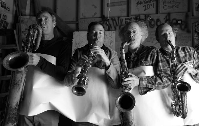 Goggle Sax Quartet