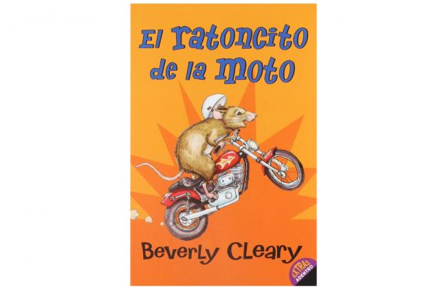 The cover of the book El ratoncito de la moto by Beverly Cleary