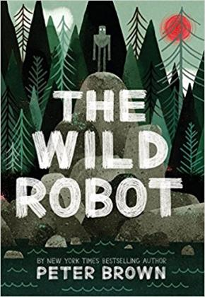 The Wild Robot book cover