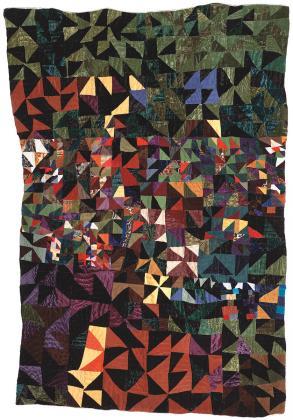 Quilt by Rosie Lee Tompkins