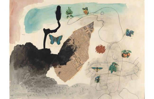 Collage by Joan Miró